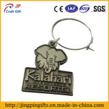 Ring Holderの旧式なElephant Metal Key Chain