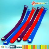 4K bracelet de silicones d'IDENTIFICATION RF de l'octet INFINEON CIPURSE4move pour le paiement