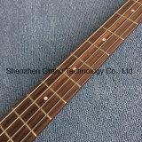 Двойные отверстия F Пустотелых электрическая гитара 4 String Bass красного вина (ГБ-62)