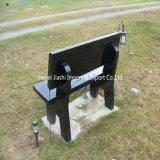 Bancs noirs de granit de la Chine pour le cimetière