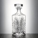 De hittebestendige Hand Geblazen Vierkante Fles van het Glas van de Wisky voor Staaf