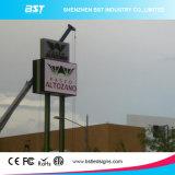 140&deg를 가진 P8 SMD 3535 옥외 광고 발광 다이오드 표시 스크린; 전망 각