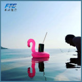 Holiday Party PVC Inflatable Floating Flamingo Edge Holder