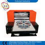 Imprimante approuvée de T-shirt de Digitals d'imprimante de DTG de la CE de Cj-L1800t pour le tissu de coton, imprimante de DTG