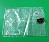 Sacchetto trasparente su ordinazione in casella per la busbana francese liquida del pacchetto 5L