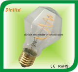 Bombilla LED 4W A19 diamante Filamento
