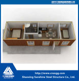 Edificio Modular prefabricado Contenedor de la Casa Casa de bastidor de la estructura de acero