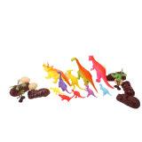 Jouets en plastique mous drôles d'imitation élevés réalistes de vente chauds de dinosaur