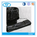 Sac d'ordures en plastique remplaçable fait sur commande de LDPE de HDPE