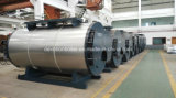 Dupla Combustível 3 Pass Fire Tube Steam Boiler Embalado