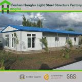 Bâtiment de villa préfabriquée en acier portatif avec équipement intérieur