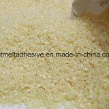 Blanco transparente gránulos adhesivos hot melt para alimentos Productos de embalaje