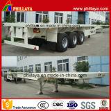Semi Aanhangwagen van de Container van het Type van Skelet van de tri-as de Verlengbare voor 40/45/48/53ft
