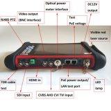 CCTVのテスターのモニタ8MP H. 265 4K IP Tvi Ahd Cvi 7インチ