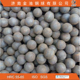 La alta precisión forjó las bolas de pulido del acero para la explotación minera y la central eléctrica