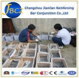 Acopladores de acero del empalme mecánico de la barra de refuerzo de la alta calidad y del negro caliente de la venta