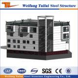 Casa Prefab Multi andares do Prédio de Estrutura de aço Sala de Exposições projectos de construção