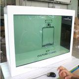 """Yashi 55"""" pouces à écran tactile LCD HD affichage publicitaire transparent"""