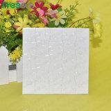 Carré blanc Freesub Puzzle pour DIY impression en sublimation (P02)