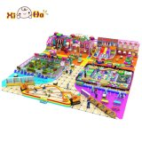 Спортивная площадка прочных популярных детей конструкции крытая