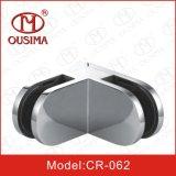 ガラスステンレス鋼のガラス固定クランプCr062への90度ガラス)