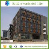 Proyecto de edificio ligero prefabricado del hotel de la estructura de acero