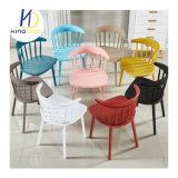 Forte de conception simple de style moderne de la restauration chaises de jardin en plastique PP