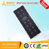 Todo en uno de iluminación integrados LED 80W calle la luz solar (CH-SSL-280)