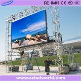 Im Freien farbenreicher druckgießenSchaukasten lED-P8 hergestellt in China