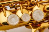Оптовая торговля музыкальный инструмент /прямой сопрано Sax /Gold лак