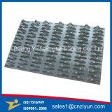 La placa del conector de acero galvanizado de vigas de techo