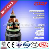 câble blindé 3X95mm de fil d'acier du câble 10kv