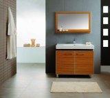 Изделий мебели ванной комнаты Foshan шкаф ванной комнаты самомоднейших санитарных деревянный