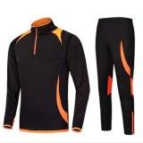Sublimation-Druck-langes Hülsen-Fußball-Fußball-Training Sportsuit trockenes passendes laufendes Jersey