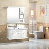 Cabinet de salle de bains moderne de PVC avec le miroir
