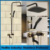シャワー・ヘッドのコック8インチのステンレス鋼の浴室のシャワーセットのための弁のコックが付いている円形のシャワー・ヘッド