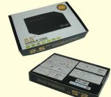 알루미늄 쉘 USB2.0 HDD 울안은 모든 2.5 인치 SATA 하드드라이브를 지원한다