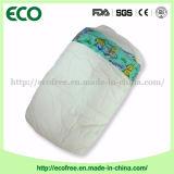 Пеленка младенца OEM Peaudouce ранга устранимая дешевая с Breathable задним листом