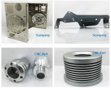 Kundenspezifische Teil-Blech-Herstellung der Befestigungsteile CNC-Präzisions-Bearbeitung-/CNC maschinell bearbeitender teil-/Metall/gestempelte Teile/lochendes Teil /Stamping