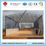La luz de alta calidad almacenes prefabricados de acero