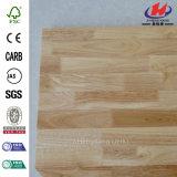 100%の純木のゴム製木製のニースのダイニングテーブル