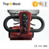Scooter électrique de mobilité de lithium neuf de sûreté de Topmedi pliable