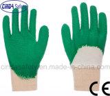 Перчатки безопасности отделки Knit латекса 3/4 покрынные развевали запястьем руки, котор