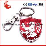 Type trousseaux de clés faits sur commande en métal d'alliage de pièce de monnaie en métal de vente en gros
