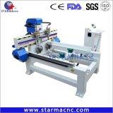 4 axes 1325 Wood CNC Router avec Independent machine CNC de l'axe rotatif la gravure