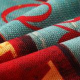 2018新しいデザインデジタルによって印刷される装飾的なクッションカバーリネン綿の投球枕箱