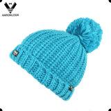Шлем зимы детей теплый связанный с Thinsulate
