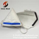 Maschera di protezione pieghevole respirabile poco costosa della polvere dell'OEM N95