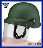 De Afrikaanse Helm van de Rel van de Stijl Militaire Anti met het Net van het Metaal (sysg-206)