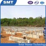 La masse de systèmes de montage de modules solaires photovoltaïques PV C de montage du système de montage en acier pour les modules solaires PV